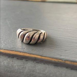 Carolyn Pollack Relios 925 Silver Ring Size  6